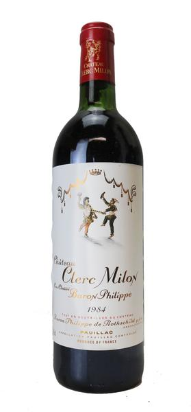 Chateau Clerc Milon Rothschild , 1984